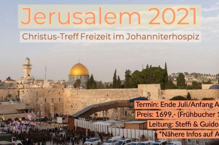 Sommerfreizeit in Jerusalem 2021