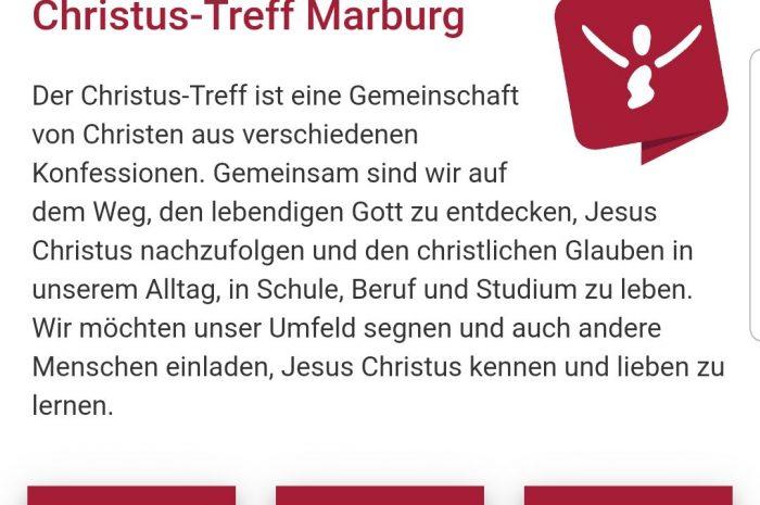 Die Christus-Treff-App: Miteinander verbunden bleiben
