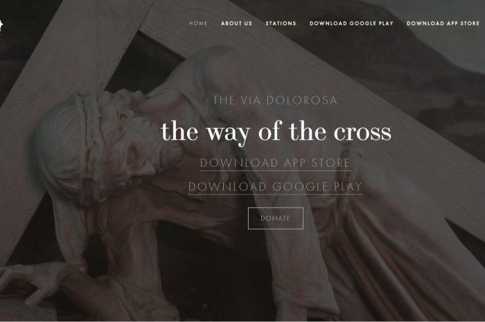 Die Via Dolorosa App: Mit Jesus auf dem Kreuzweg