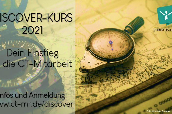 Discover-Kurs: nächste Möglichkeit