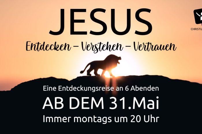 Unser Online-Kurs: Jesus entdecken – verstehen – vertrauen