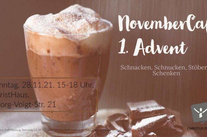 Endlich wieder … NovemberCafé!